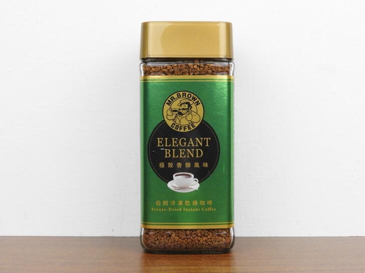 伯朗極緻香醇風味即溶咖啡正面